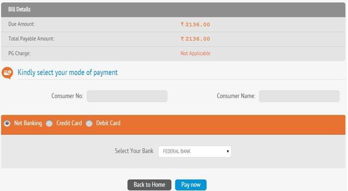 Kseb Online Payment Kseb Quick Pay Electricity Bill