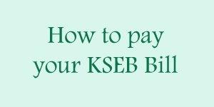 KSEB Online Bill Payment Methods